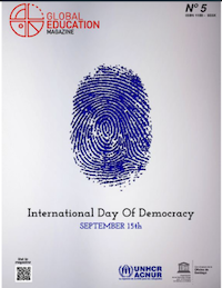 Global Education Magazine, International Day of Democracy Cover