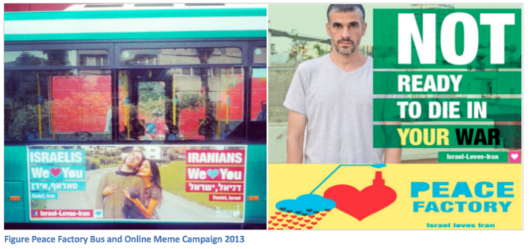 Figure Peace Factory Bus and Online Meme Campaign 2013, Global Education Magazine