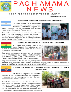 Pachamama NEWS, Global Education Magazine