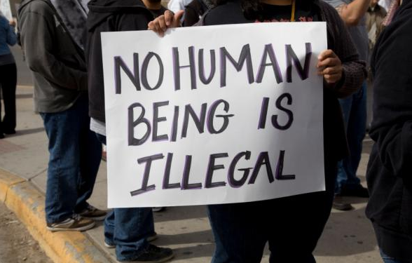 No Human Being is Illegal, Laura Sampietro, Global Education Magazine