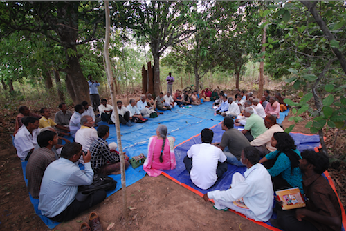 5. Village & civil society consultation on CFRs, Odisha @ Ashish Kothari, Global Education Magazine,