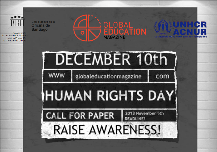 Global Education Magazine, UNESCO, UNHCR, ACNUR, Human Rights Day