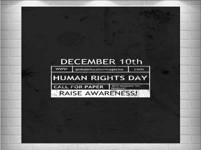 Human Rights Day, Global Education Magazine