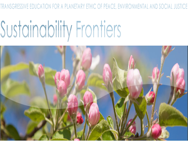 sustainability frontiers, Global Education Magazine