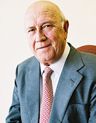 FW de Klerk, Peace Nobel Prize 1993, global education magazine