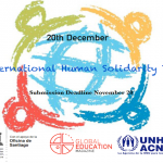 Global Education Magazine: International Human Solidarity Day