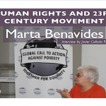 "Interview with Marta Benavides: ""Human Rights and 23rd Century Movement"""