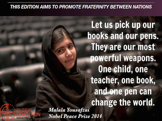 international human solidarity day, malala yousafzai, nobel peace prize 2014