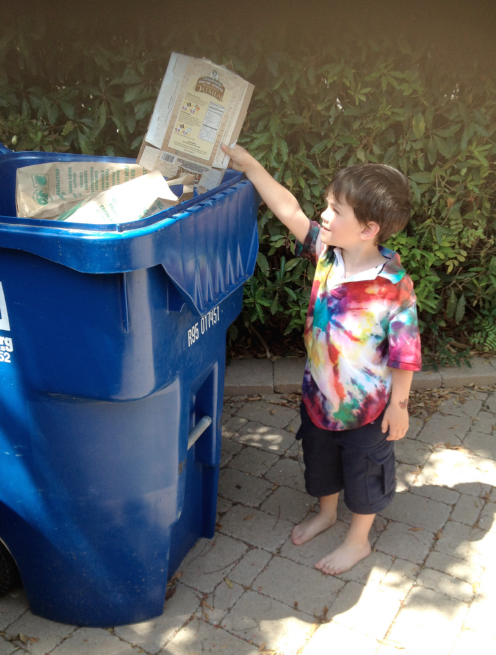 enzo and trash, global education magazine
