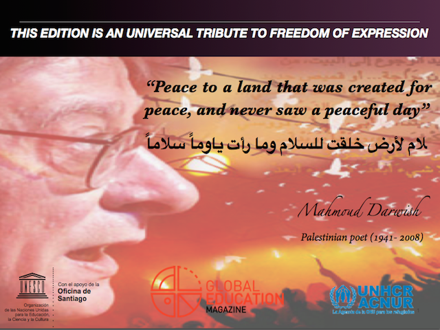 A Reflection on War and Peace for International Peace Day, global education magazine, unesco, unhcr, acnur,