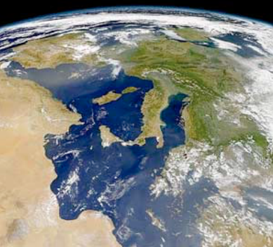Europe seen from above, global education magazine