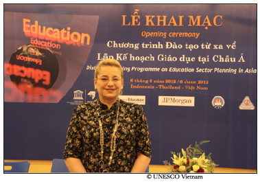 Katherine Muller-Marin, UNESCO Vietnam, global education magazine, global citizenship education,