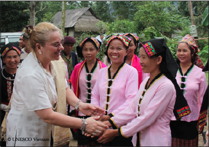 Katherine Muller-Marin, UNESCO Vietnam, global education magazine, international day of peace,