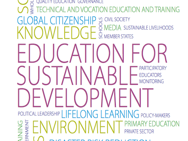 education and sustainable development Education for sustainable development - moving into the second half of the un decade the conference developed mechanisms for enhanced cooperation in the implementation of the un.