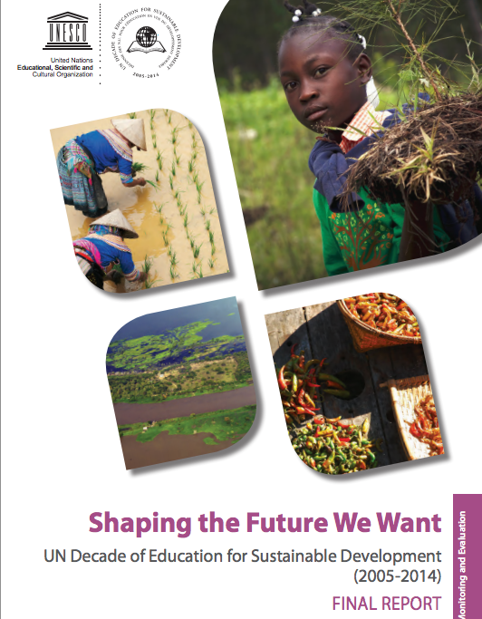 Shaping the Future We Want, UNESCO, final report, Education for Sustainable Development,