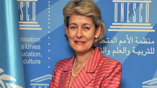 UNESCO Director-General, Irina Bokova, global education magazine