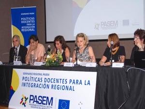 Ceremonia de apertura - Vice m  seminario regional 2015 PASEM
