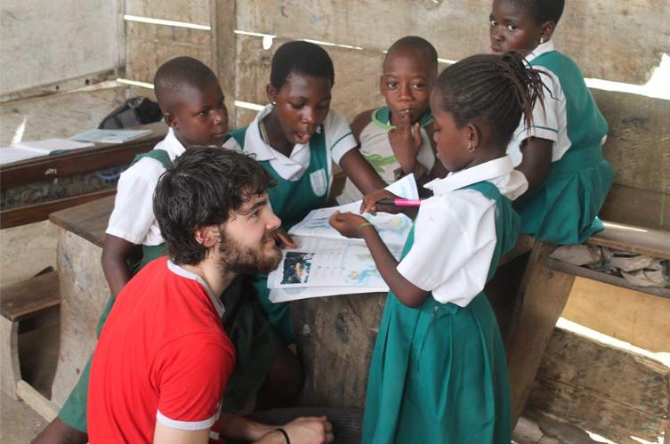 Dream Africa Care Foundation, Global education magazine, Ghana, Alex Medlicott,