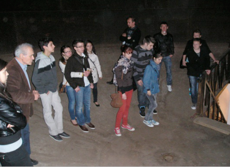 Inside of the huge water tank of the town, romania, global education magazine, water,