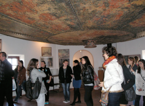 Visiting The Museum of The Water Tower of Arad, romania, global education magazine