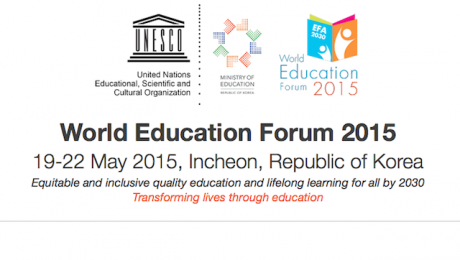 world education forum incheon south korea 2015