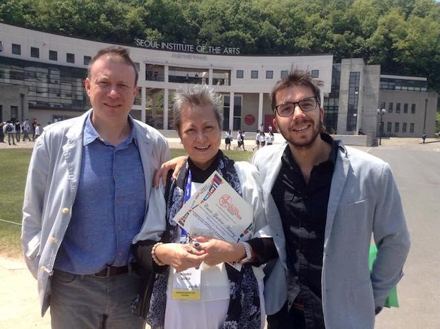 Tay Yoo, Cecile guidote-alvarez, javier collado ruano, seoul institute of the arts
