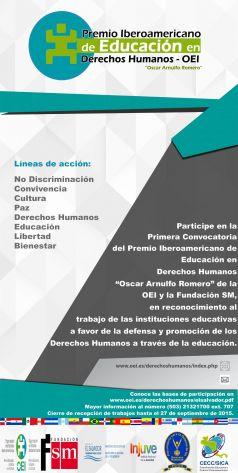 Premio Oscar Arnulfo Romero OEI -238x473