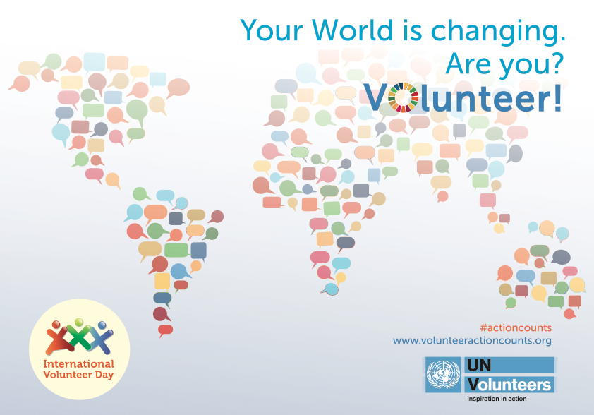 international volunteer day, UNV