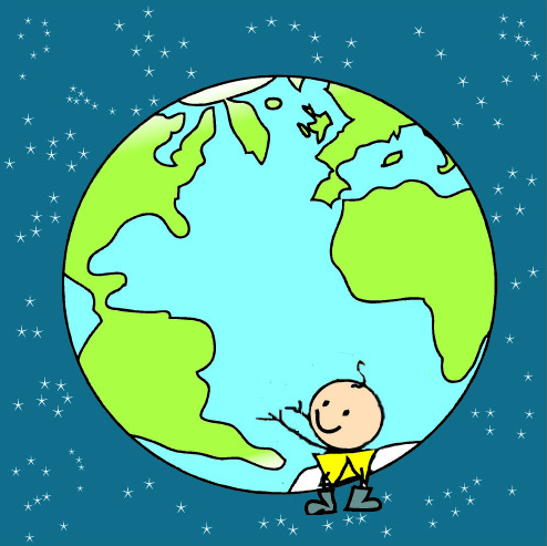 EARTH CONSTELLATION STARS AND ENZO, global education magazine