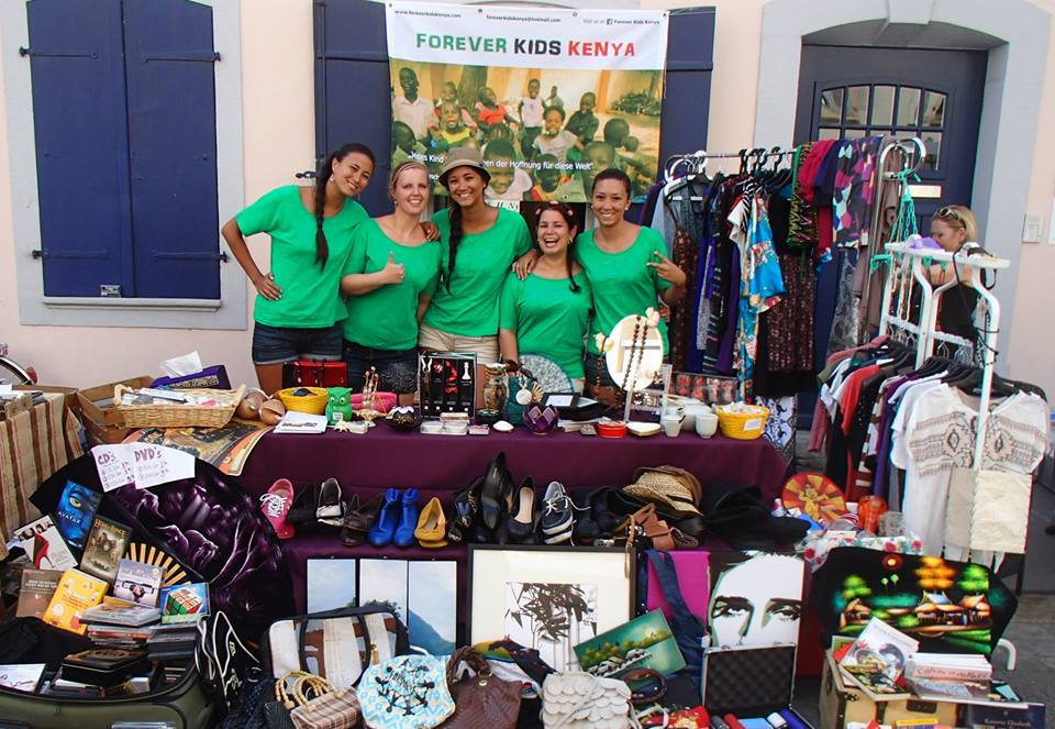 Forever Kids Kenya Flea Market Stand, global education magazine