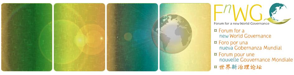Forum for a New World Governance, global education magazine,