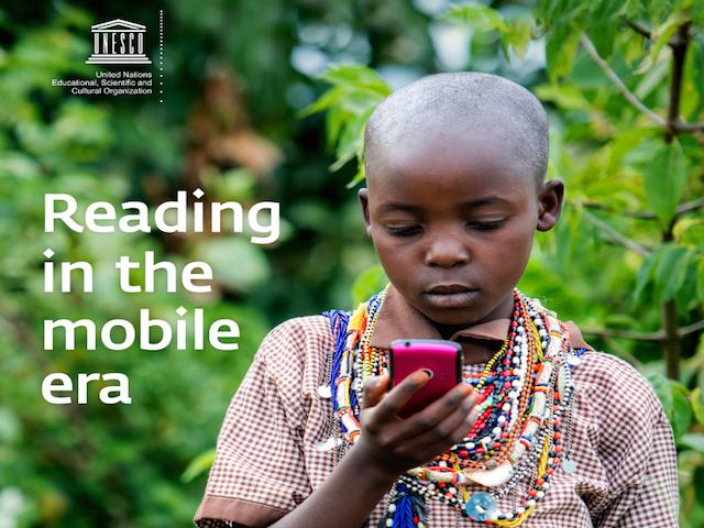 Reading in the mobile era, global education magazine, acnur, unesco