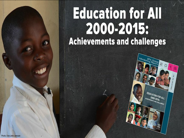 Education for All 2000-2015, global education magazine