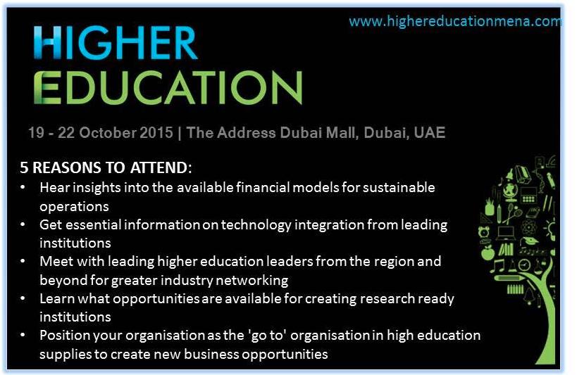Higher Education MENA, global education magazine