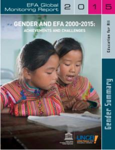2015 EFA Gender Report